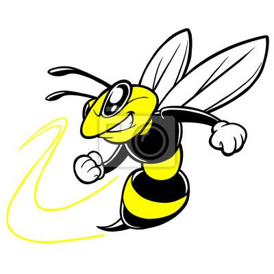 Bee-Team-Maskottchen