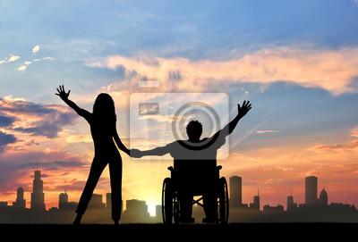 Behinderte freundin