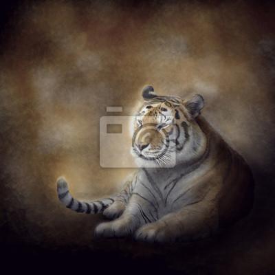 Bengal Tiger ruht