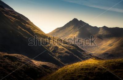 Fototapete Berge im Hochland, Schottland