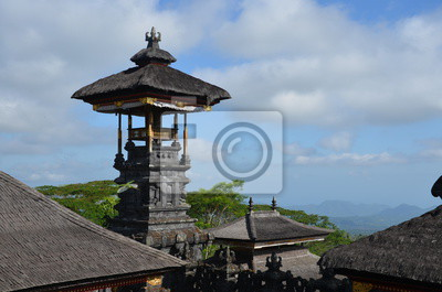 Besakih Tempel auf Bali, Indonesien