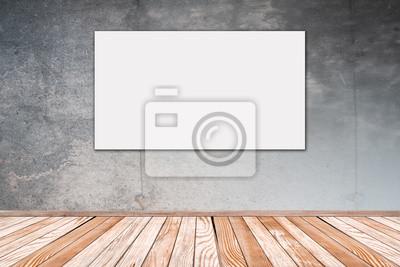Betonwand mit Bild: 16:9 - Betonwand mit Bild 16:9-