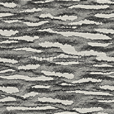Fototapete Beunruhigter Hintergrund der abstrakten gestreiften Flecke. Nahtloses Muster