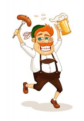 Bier-Party Mann