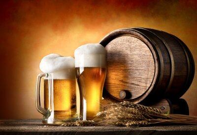 Fototapete Bier-und Lauf