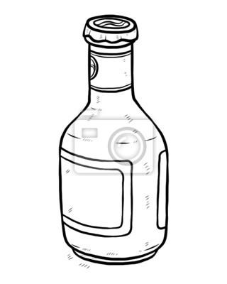 Fototapete Bierflasche