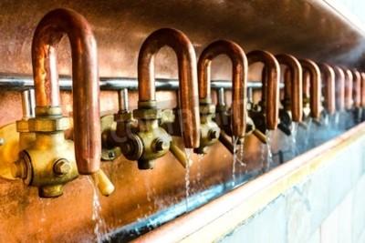Fototapete Bierherstellung