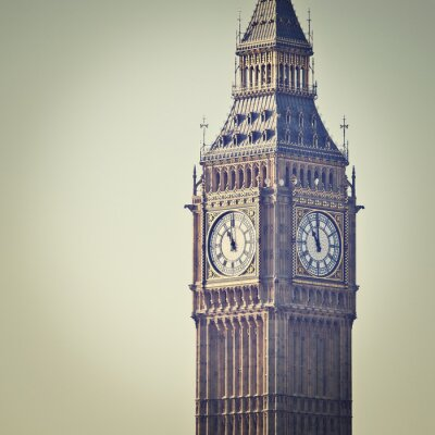 Fototapete Big Ben in Westminster, London, mit Instagram-Effekt-Filter