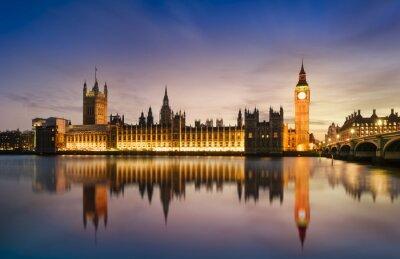 Fototapete Big Ben und House of Parliament