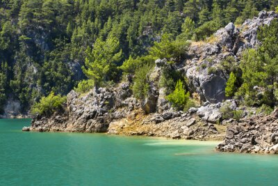 Fototapete Big Green Canyon Nature Reserve in Turkey