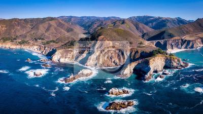 Big Sur Kalifornien Pano