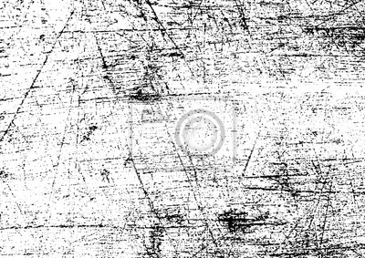Fototapete Black and white grunge. Distress overlay texture. Abstract surface dust and rough dirty wall background concept. Distress illustration simply place over object to create grunge effect . Vector EPS10.