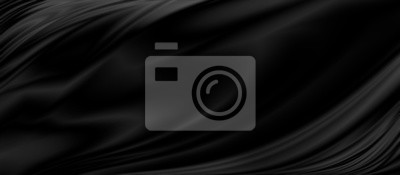 Fototapete Black luxury fabric background with copy space