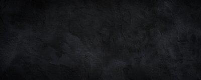 Fototapete Black or dark gray rough grainy stone texture background