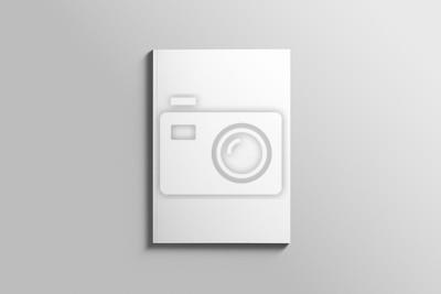 Blank a4 photorealistische broschüre mockup auf hellgrauem ...