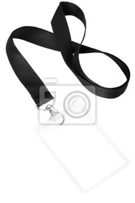 Blank Abzeichen oder ID übergeben mit Clipping-Pfad