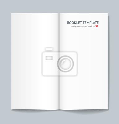 Blank broschüre mock up mit schatten auf dunkelgrauem hintergrund ...