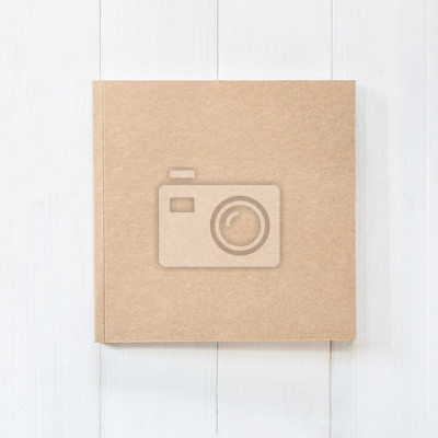 Blank buch mock up quadratischen katalog zeitschriften, broschüre ...