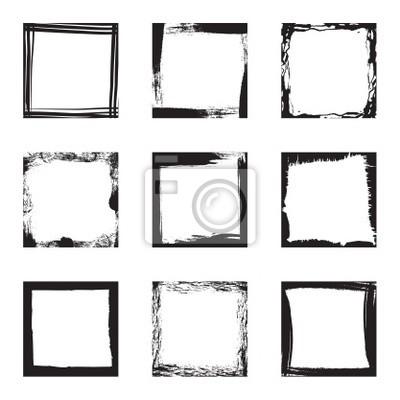 blank grunge Rahmen