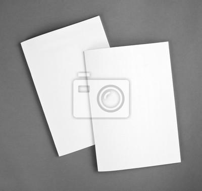 Blank katalog, broschüre, zeitschriften, buch mock up. fototapete ...