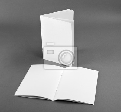 Blank katalog, broschüre, zeitschriften, buch mock up fototapete ...