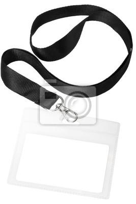 Blank oder Namens Pass mit Clipping-Pfad