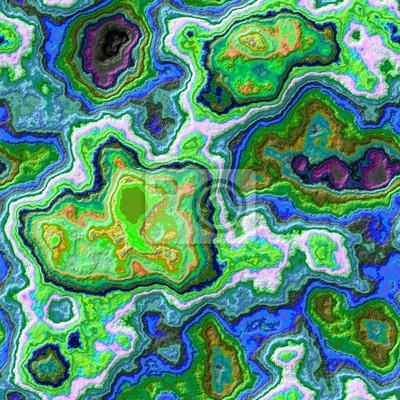 Blau Grun Marmor Achat Stein Nahtlose Muster Textur Hintergrund