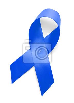 Blau Unterstützung Ribbon