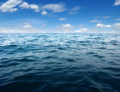 Fototapete Blaue Meerwasseroberfläche