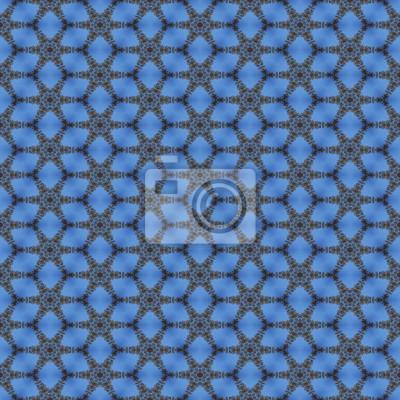 Blaue Tapete Fototapete Fototapeten Schöne Geometrischen