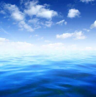 Fototapete Blaues Meerwasser
