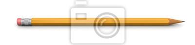 Fototapete Bleistift (Beschneidungspfad enthalten)