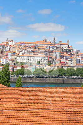 Fototapete Blick auf Altstadt, Porto, Portugal