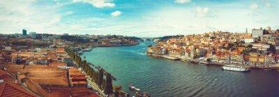 Fototapete Blick auf den Douro in Porto.