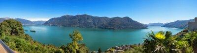 Fototapete Blick auf den Lago Maggiore