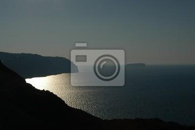 Blick auf die Caldera, Santorin