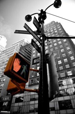 Fototapete Blinklicht new york boradway