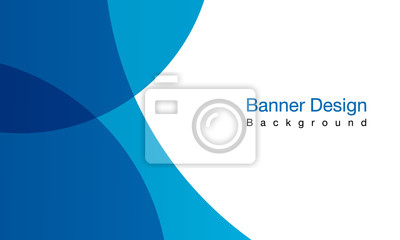Fototapete Blue background vector illustration lighting effect graphic for text and message board design infographic