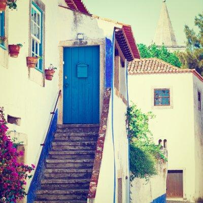 Fototapete Blue Door