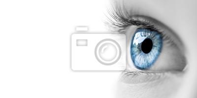Fototapete Blue Eye