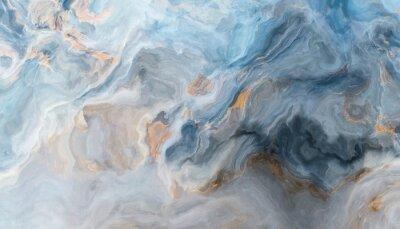 Fototapete Blue marble background