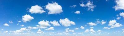 Fototapete Blue sky natural background.