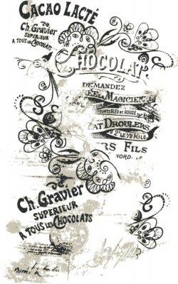 Fototapete Blume Schmetterling schriftlich illustration