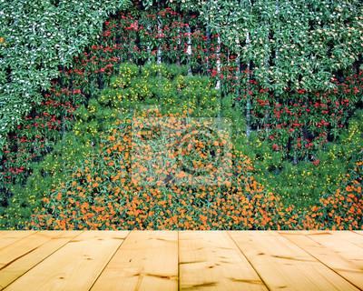 Blume Und Pflanze Wand Vertikal Garten Fototapete Fototapeten Fern