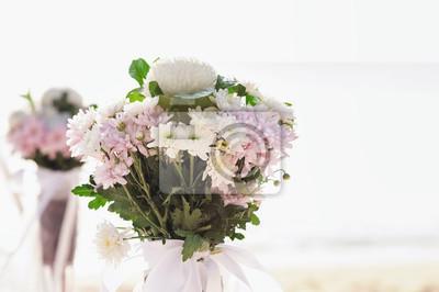 Blumen Blumenstrauss Arrangieren Fur Hochzeit Dekoration Mit Meer