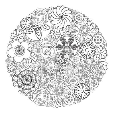 Atemberaubend Farbbuch Blumen Galerie - Dokumentationsvorlage ...