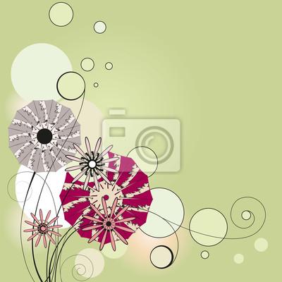 Blumen, die Vignette