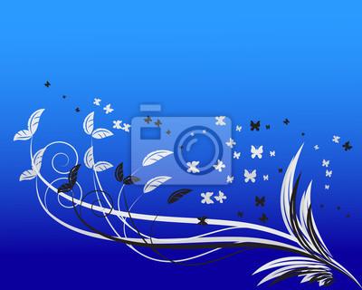 Blumen Hintergrund mit Platz für Ihren Text