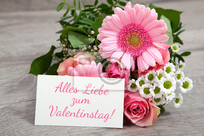 Foto blumen valentinstag
