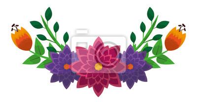 Blumenzusammensetzungsblumenstrauß. Skizze Brautstrauß. Einfarbige Vektorillustration in der Skizzenart lokalisierte weißen Hintergrund. Hand gezeichnete Blumenstraußblumen und -anlagen.